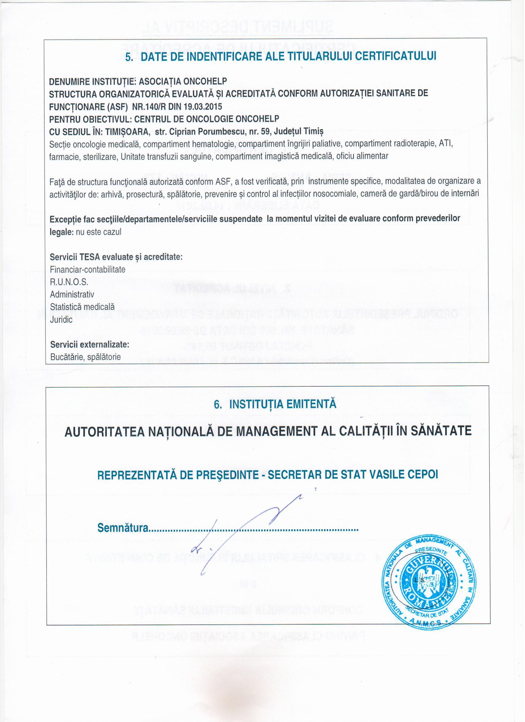 Certificat de acreditare 3