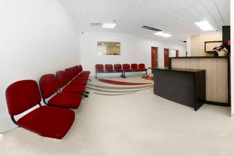 Sala asteptare radioterapie