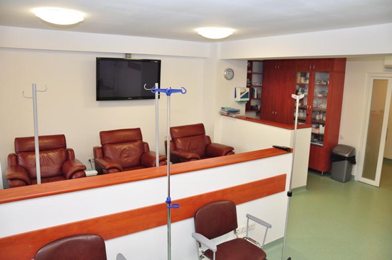 Receptie centru oncologic