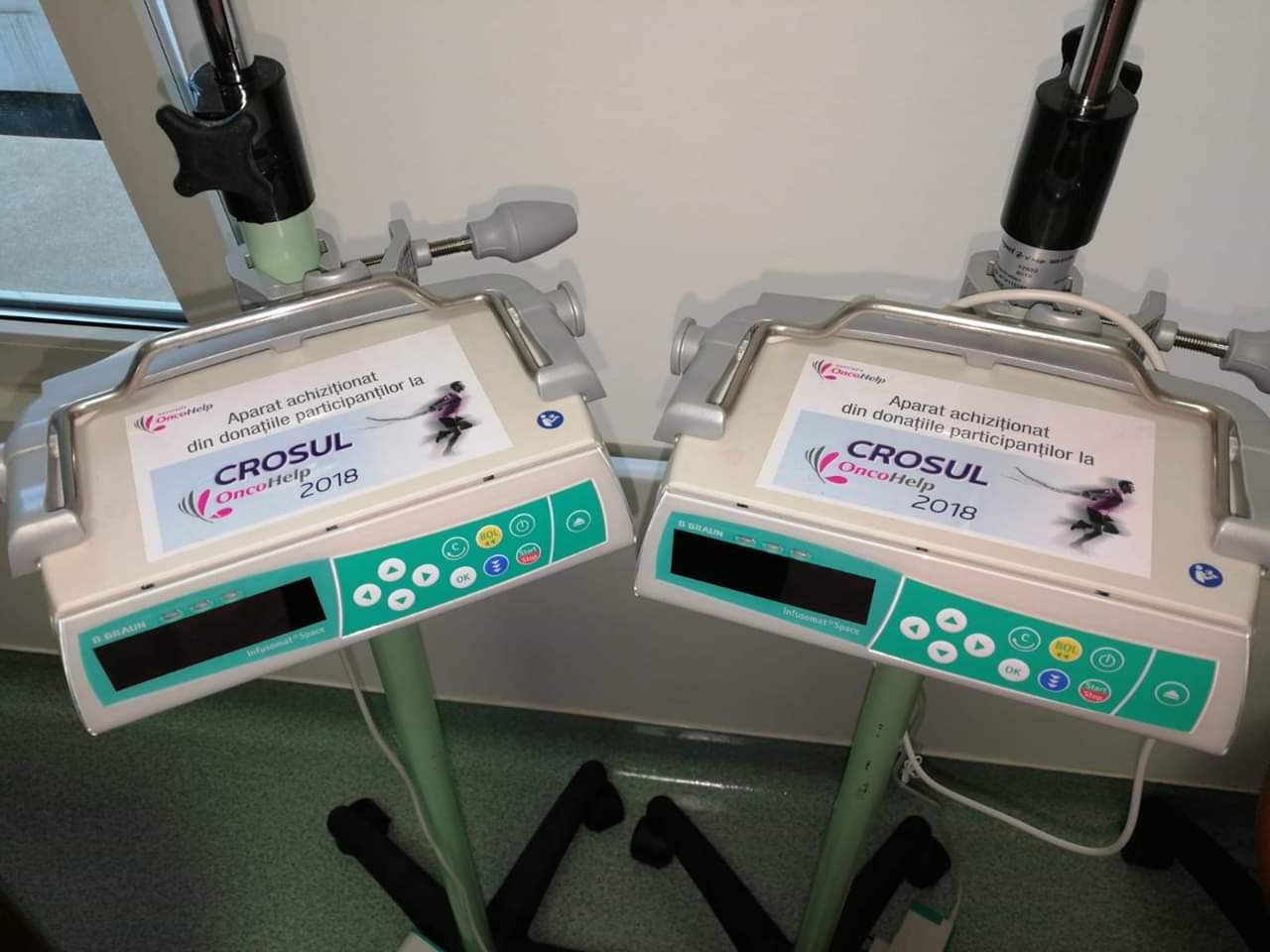 Injectomate achizitionate in urma evenimentului Crosul Oncohelp